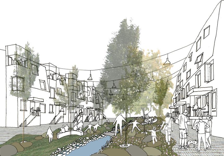 Bergen-Housing-street