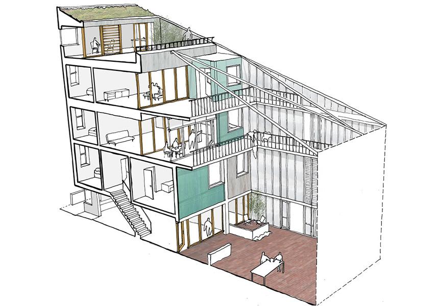 Peabody-housing-winner-section-live-work-flats-flexible