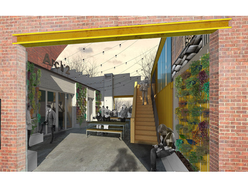 Arch2_StepneyBank_Ouseburn_Courtyard