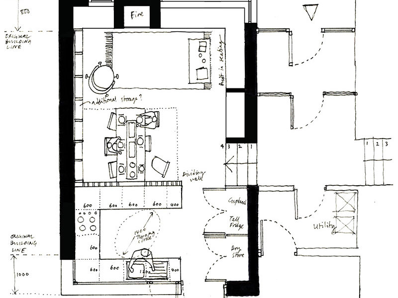 modernist-extension-kitchen-plan-sketch