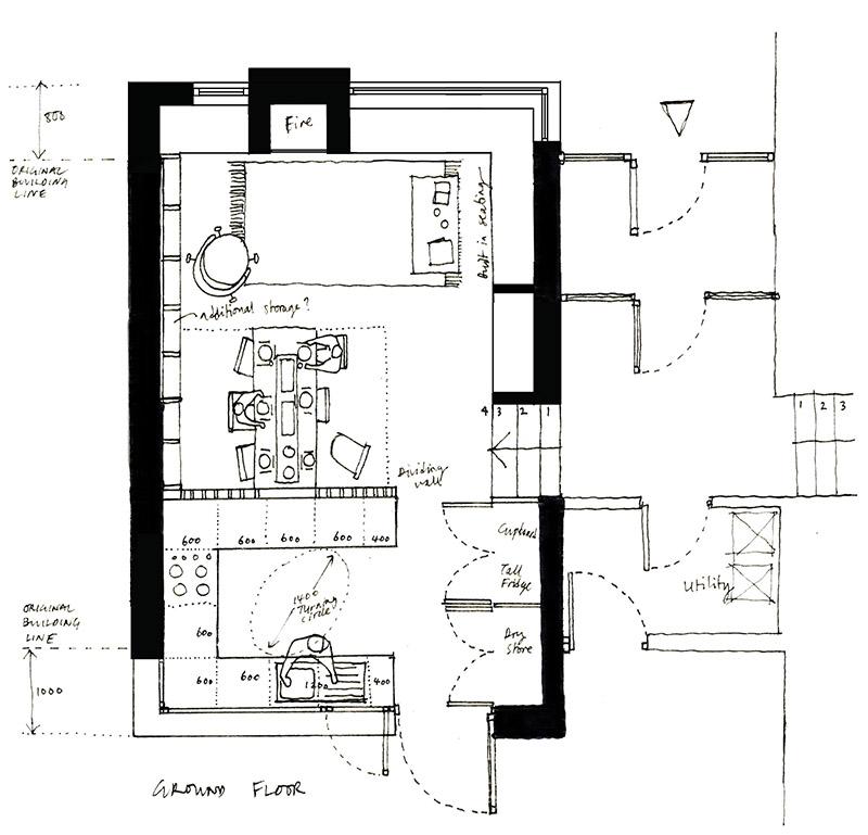modernist-extension-kitchen-plan-sketch
