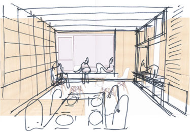 new kitchen ideas sketch