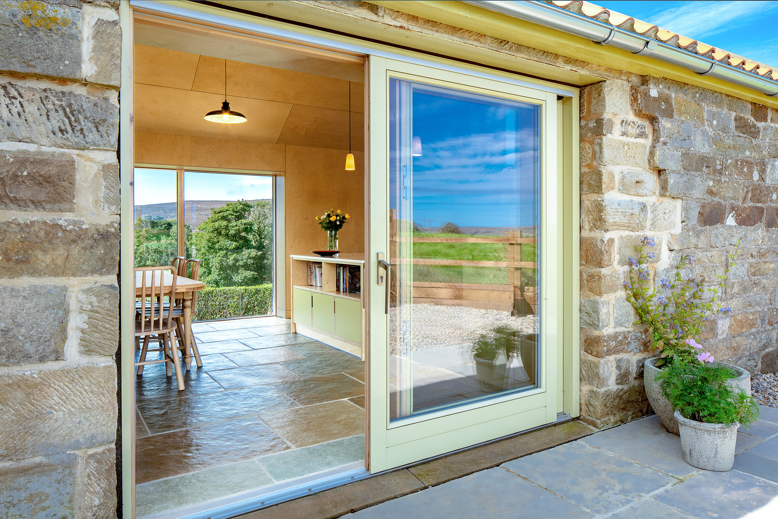 harper-perry-architects-housing-barn-westerdale-north-yorkshire-glazing-patio